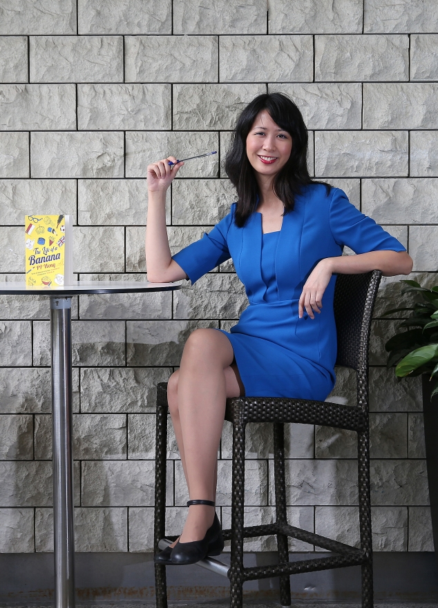 PP Wong, author of THE LIFE OF A BANANA