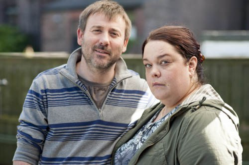Programme Name: Moving On - TX: n/a - Episode: The Signature (No. 2) - Picture Shows:  Ken (GRAEME HAWLEY), Moira (LISA RILEY) - (C) LA Productions - Photographer: Tony Blake